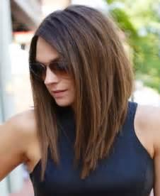 Long A Line Haircut Medium Length Hairstyles 2016 Bobs A Line And