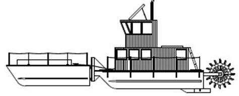 riverboat party barge paddlewheel woodworking plans