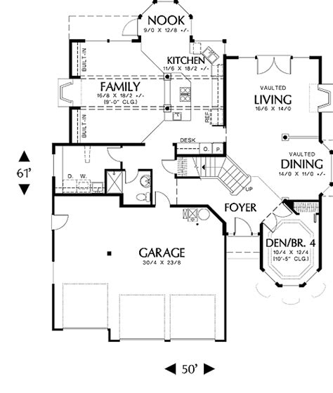 European House Plan With 3 Bedrooms And 3 5 Baths Plan 2653 Dfd House Plans