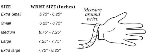 Circumference Length Measuring Band how to get the for your wrist size the