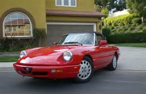 Alfa Romeo Veloce Spider For Sale 1991 Alfa Romeo Spider Veloce Classic Italian Cars For Sale