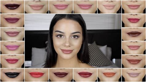 Lipstik Ofra Ofra Cosmetics Liquid Lipstick Swatches And Review Umakeup
