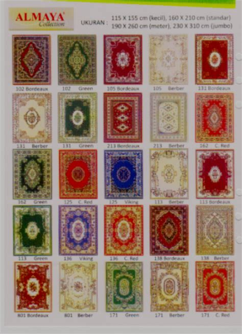 Karpet Almaya Murah harga karpet almaya pusat grosir karpet murah