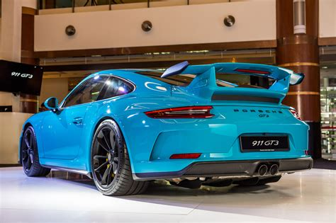 porsche 911 gt3 price 2017 porsche 911 gt3 launched priced from rm1 7 million