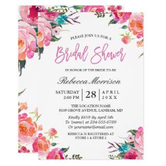 Bridal Invitation Cards by Bridal Shower Invitations Zazzle