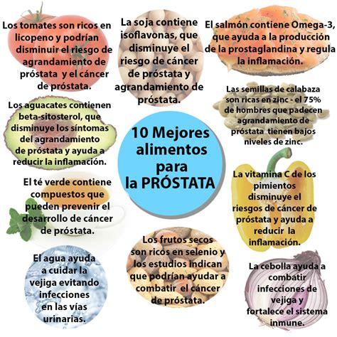 prostata alimentos 10 mejores alimentos para la salud de la pr 243 stata