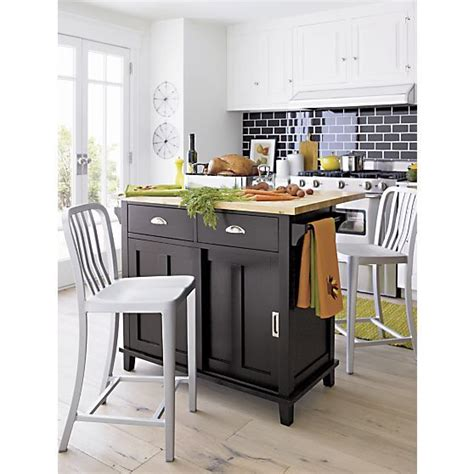 Crate And Barrel Kitchen Island by Belmont Black Kitchen Island Crate And Barrel Kitchen