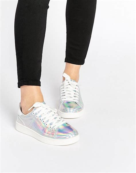 new look sneakers new look new look holographic sneakers