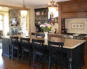kitchen island with 4 chairs yellow kitchen cabinets quicua