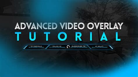 adobe photoshop overlay tutorial tutorial advanced video overlay photoshop cc behr