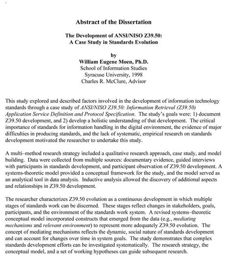 abstract van thesis dissertation abstract and sle chapters brandon van dyck
