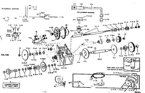 tulsa winch parts diagram sears 12 volt electric winch parts model 6674941 sears