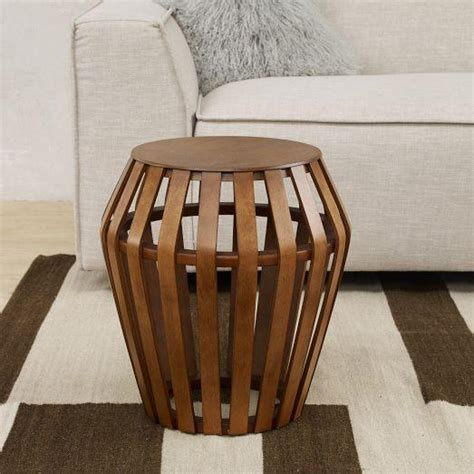bentwood side table west elm