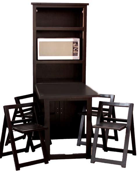 sillas plegables comedor comedor plegable ahorra espacio de madera con 4 sillas