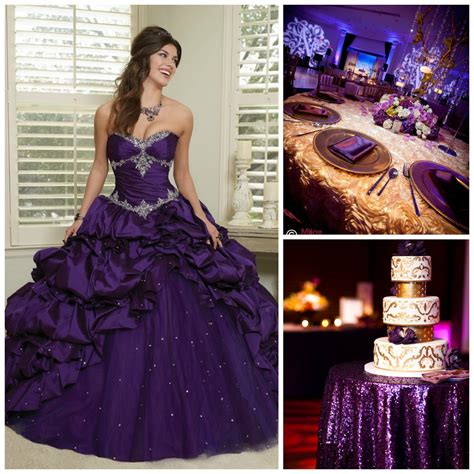 gold quinceanera themes quince theme decorations quinceanera ideas plum colour