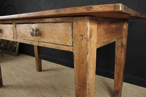 farmhouse tables for sale used antique farmhouse dining table fruitwood random 2 kitchen