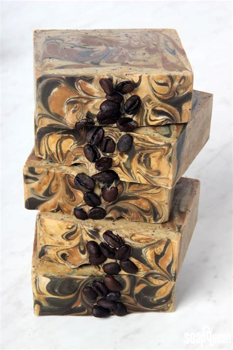 Coffee Soap how to make coffee soap teach soap