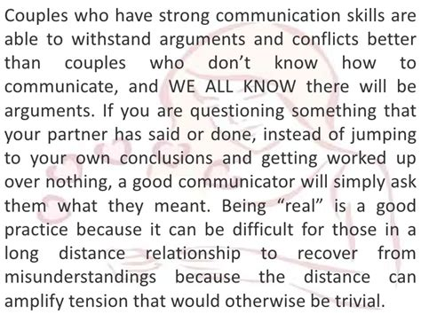 7 Daily Relationship Tips For Your by Distance Relationship Advice Optimizing Communication