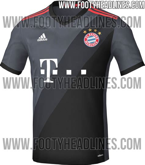 Bayern Muenchen Away bayern m 252 nchen 16 17 away kit leaked footy headlines