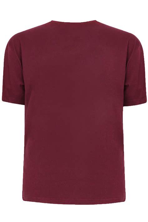 Tshirt Way Vol 4 C3 badrhino burgundy basic plain crew neck t shirt