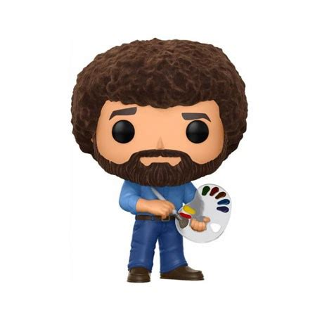 Clean Pop Limited toys pop tv bob ross flocked limited edition funko preorder