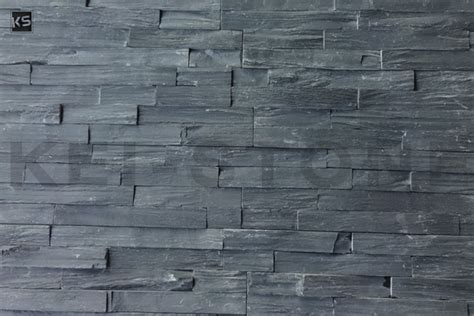 Parement Mural Naturelle by Parement Mural De Pierres Naturelles Noires D 233 Kostone Black