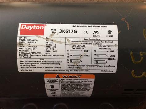 dayton 1 3 hp motor wiring diagram get free image about
