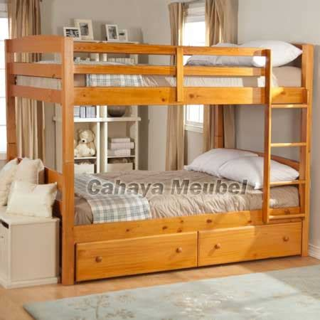 Tempat Tidur Susun Minimalis tempat tidur susun minimalis jati jepara jual tempat