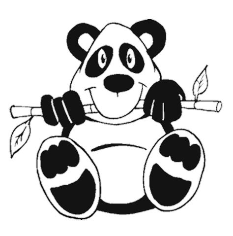 Free Coloring Pages Of A Baby Panda Baby Panda Coloring Page