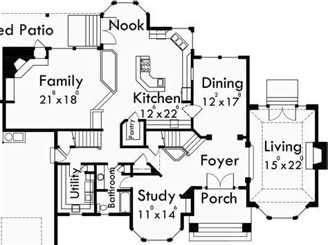dream kitchen floor plans mediterranean mansion house plan dream kitchen fabulous