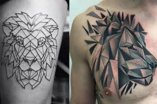 symmetrical tattoos tatuajes de le 243 n decora tu piel con el rey de la selva