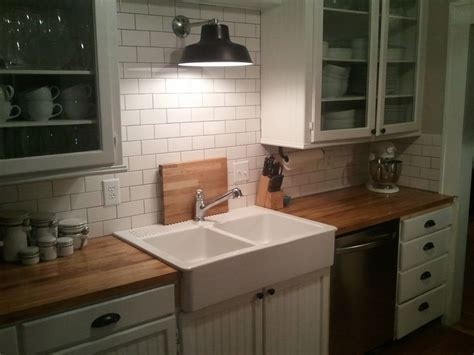 small kitchen diy remodel  north dakota ikea farmhouse sink ikea butcher block