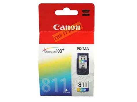 Catridge Tinta Canon 811 Warna canon cl 811 ink cartridge colour