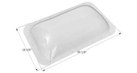 rv bathroom skylight replacement skylight dome sl1627c clear ebay