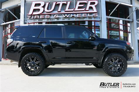 toyota 4runner road wheels toyota 4runner with 20in fuel maverick wheels exclusively