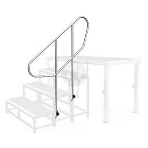 portable handrail system commercial grade aluminium portable stage system stairs