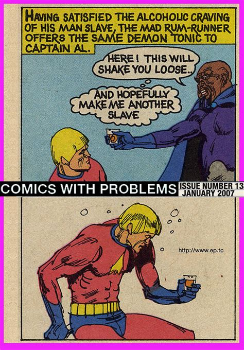 the thirteen problems comics with problems 13 the incredible coming of captain al cohol 1973