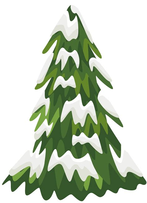 Christmas Tree Decoration by Snowy Pine Tree Png Clipart Image Gallery Yopriceville