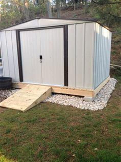 build  gravel foundationbase   shed  detailed tutorial   home