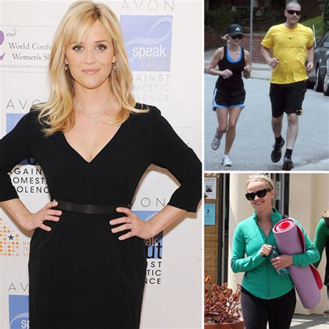 Reese Witherspoon Diet And Workout by Reese Witherspoon S Diet And Exercise Tips Popsugar Fitness