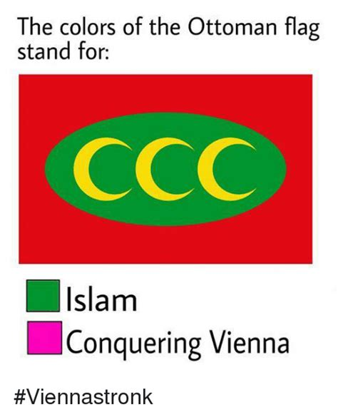 islam colors the colors of the ottoman flag stand for islam conquering