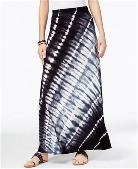 inc international concepts tie dyed maxi skirt only at