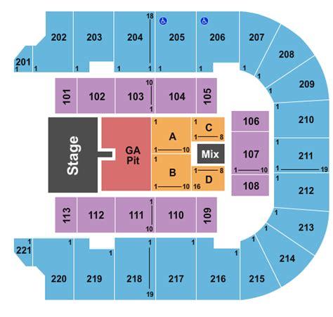 bancorpsouth arena seating map brantley gilbert tupelo tickets 2017 brantley gilbert