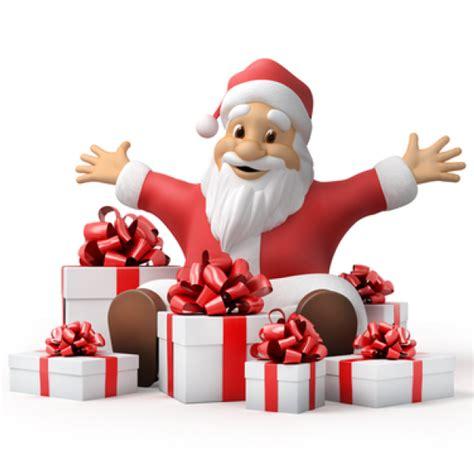 joyful santa  gifts symbols emoticons