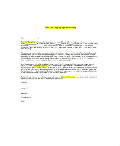 Withdrawal Of Offer Letter By Employer withdrawal of conditional offer letter docoments
