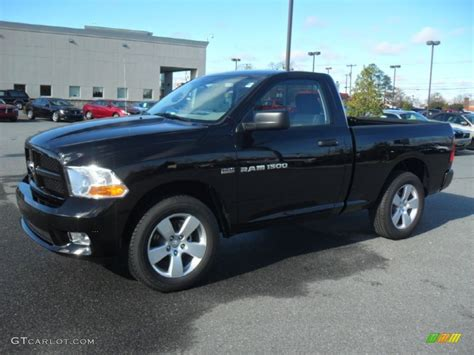 and black dodge ram 1500 2012 black dodge ram 1500 express regular cab 59529267