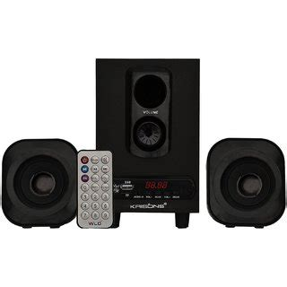 Home Theater Nvc krisons 2 1 home theatre with usb fm aux buy krisons 2 1 home theatre with usb fm aux