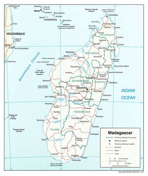 political map of madagascar maps of madagascar map library maps of the world
