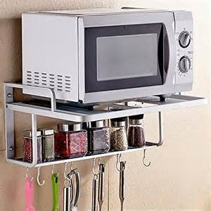 spacecare bracket alumimum microwave oven wall