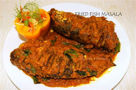 varal bral fish recipe fried fish masala gravy